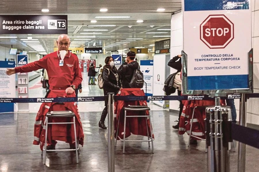 Alarm as Italy reports 1,200 new Covid-19 cases | New Straits ...