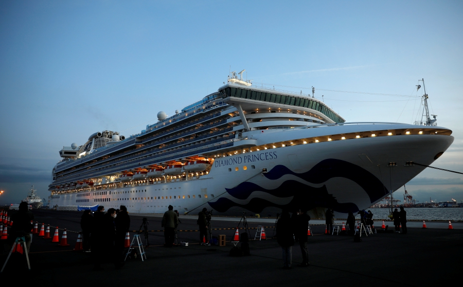 Nightmare on cruise ship off Japan, as 61 infected with ...