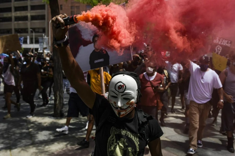 Curfews announced in major US cities after riots
