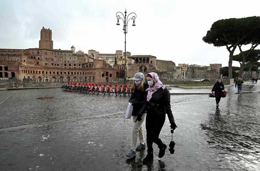Italy Covid-19 death toll jumps to 107 | New Straits Times ...