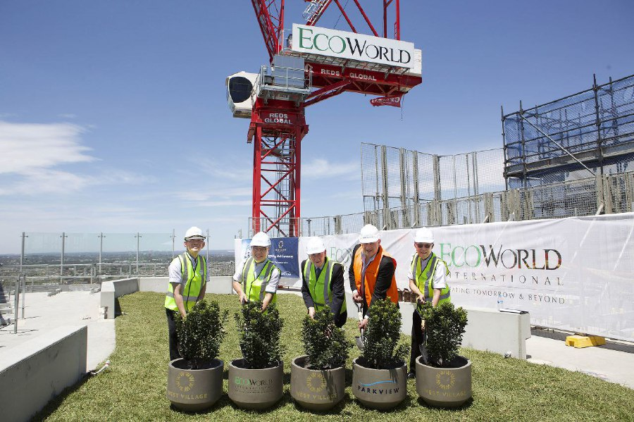 EcoWorld celebrates topping out of West Village | New Straits Times | Malaysia General Business Sports and Lifestyle News