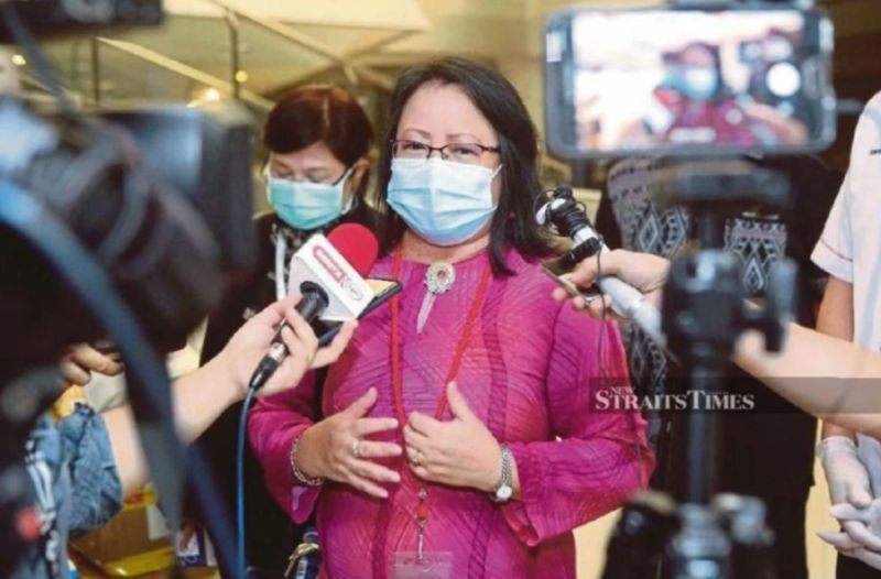 Dr Christina said 61 per cent of Sabah's Covid-19 cases are contacts of those who recently returned to the state. — NSTP/Filepic