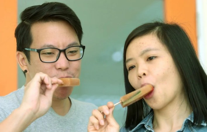 Image result for asam laksa ice cream