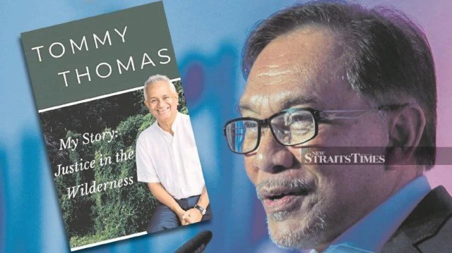 In his review of Tommy Thomas's book, Datuk Seri Anwar Ibrahim did not come out strongly enough on the right of free expression.   FILE PIC