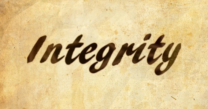 Work Matters! The consequence of having no integrity