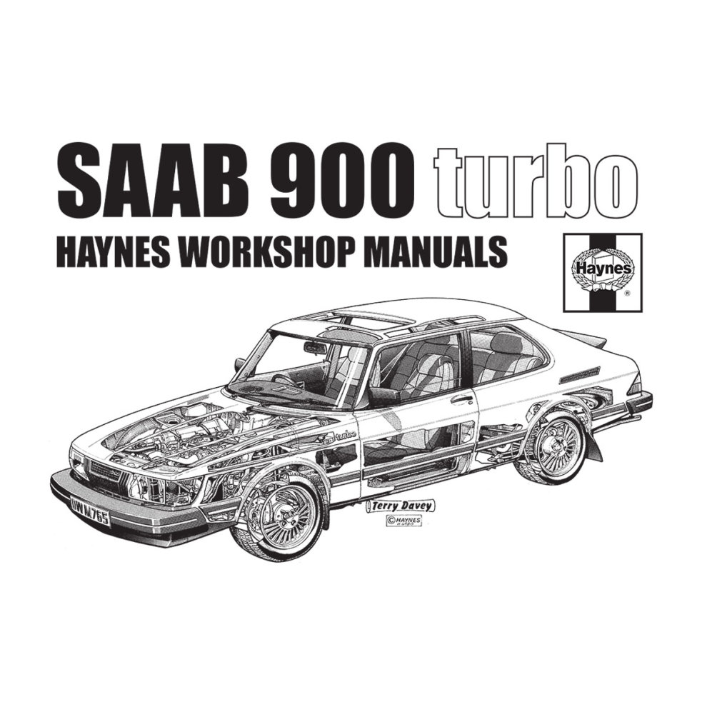 (XX-Large) Haynes Workshop Manual 0765 Saab 900 Turbo