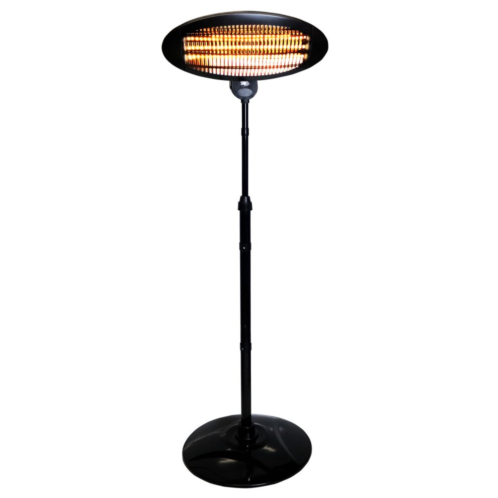 oypla free standing electric patio heater outdoor heater