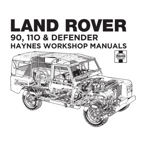 (X-Large) Haynes Owners Workshop Manual Land Rover