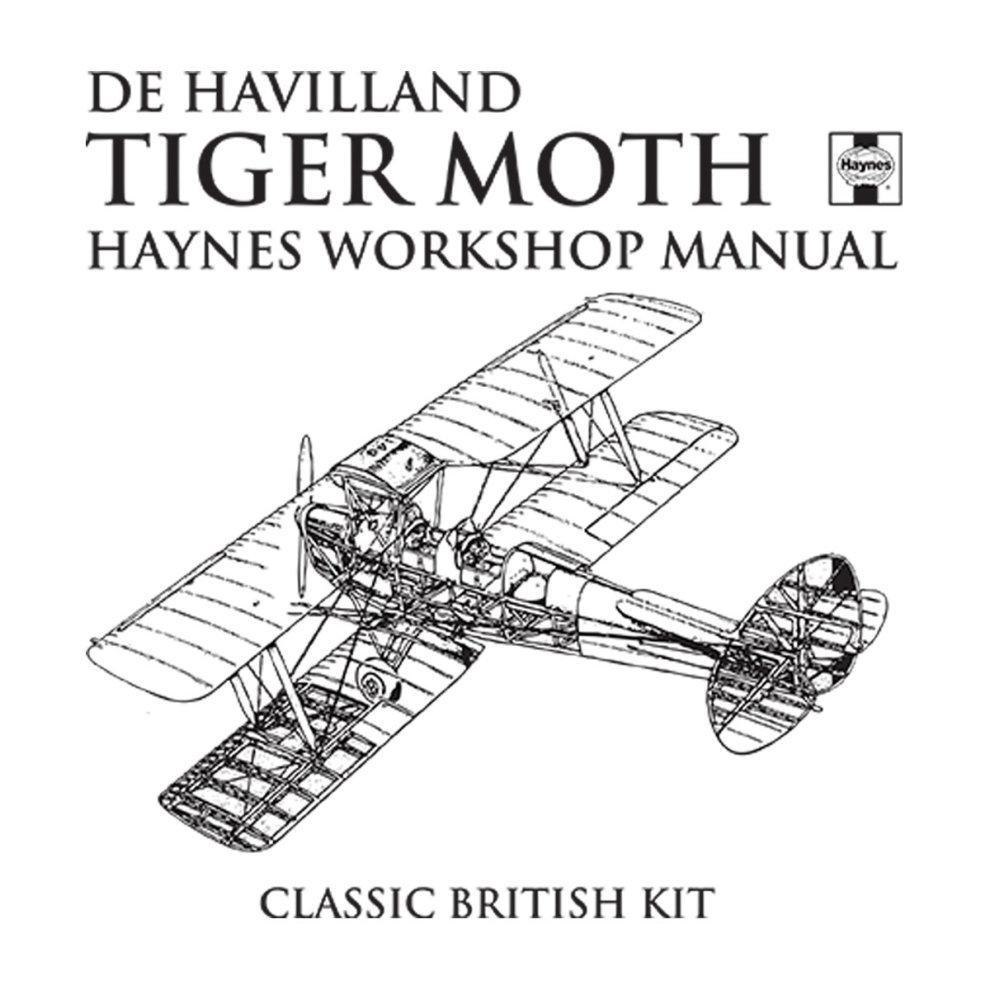 (Medium, White) Haynes Owners Workshop Manual de Havilland