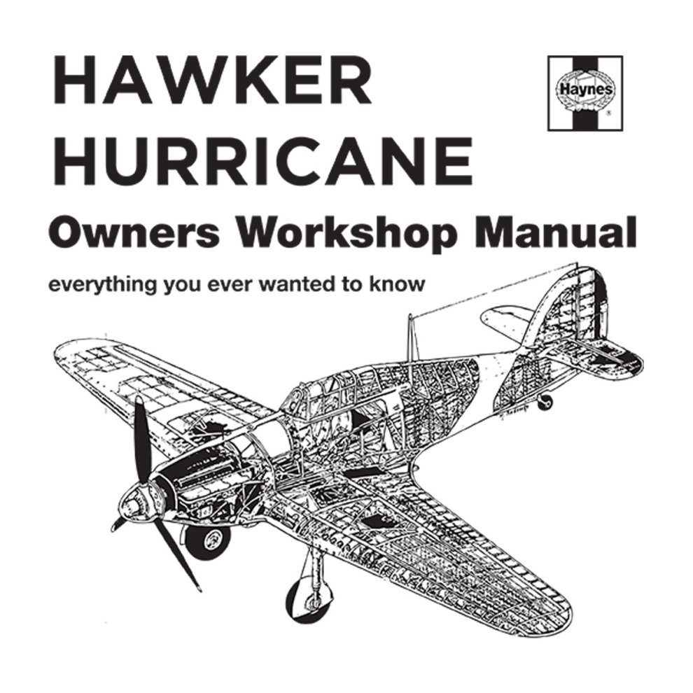 (Large, White) Haynes Owners Workshop Manual Hawker