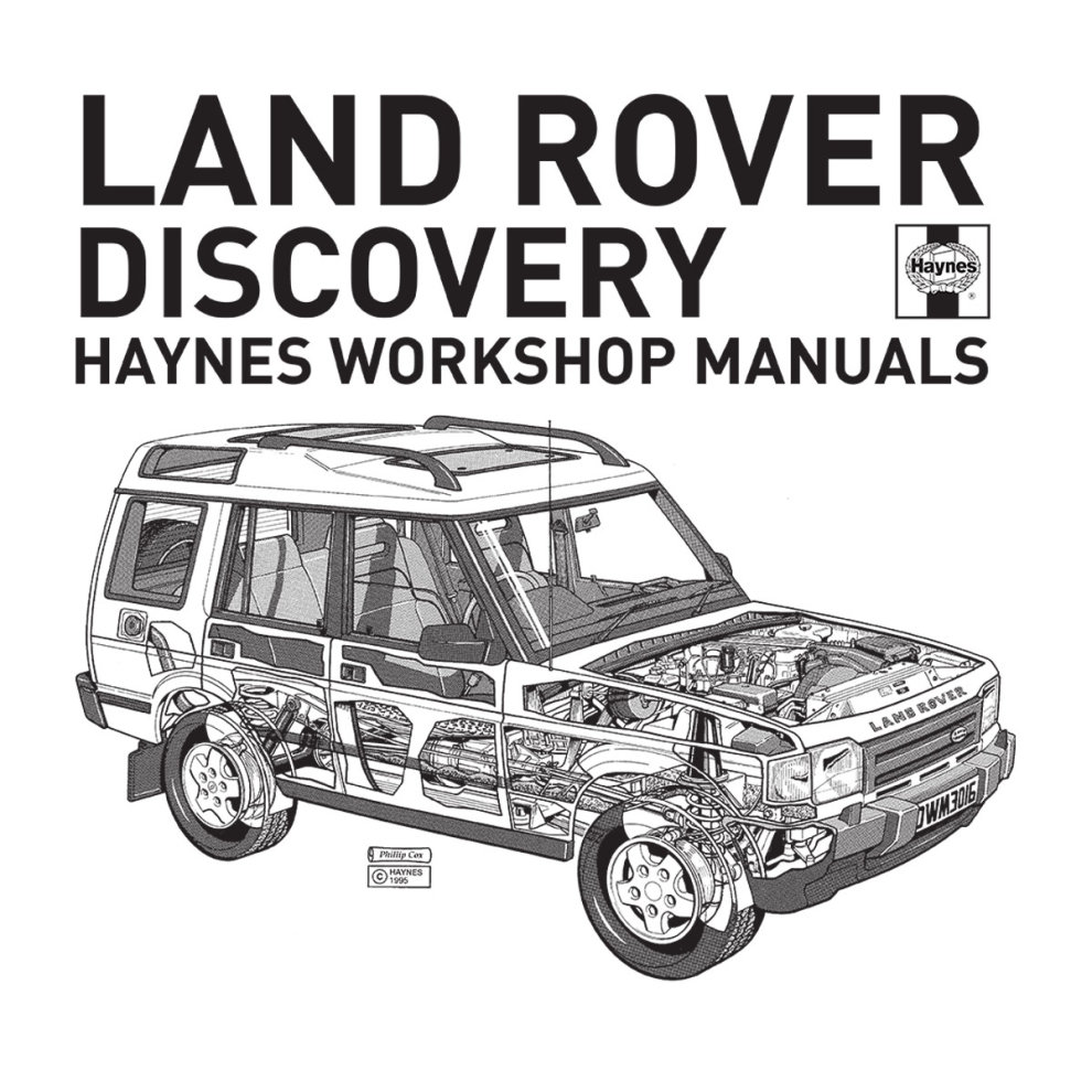 (X-Large, White) Haynes Workshop Manual 3016 Land Rover