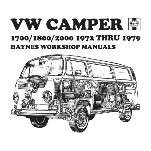 (Medium, White) Haynes Workshop Manual VW Camper 72 To 79