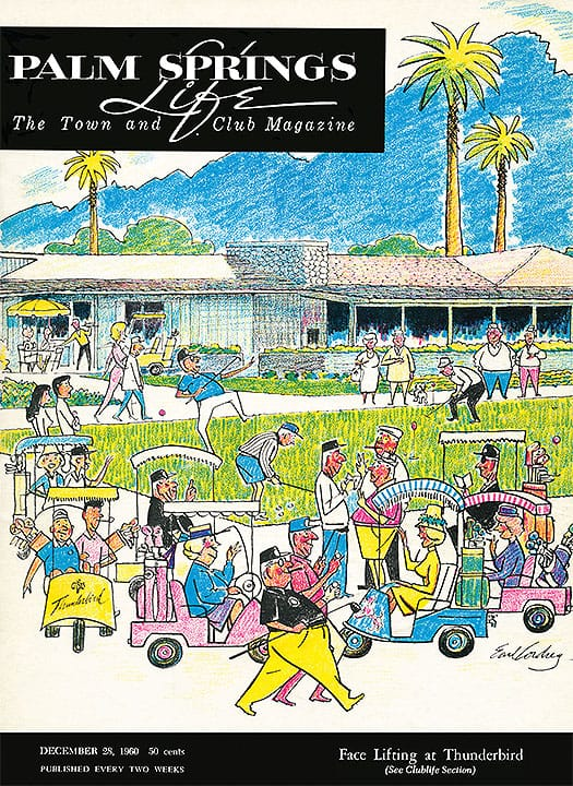 palm springs life december 28 1960 cover art