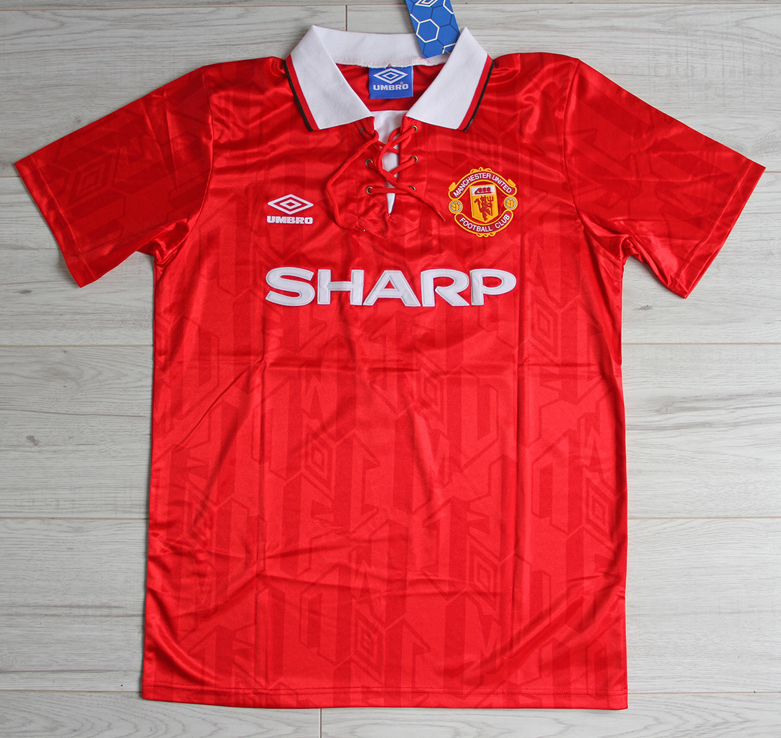 That is according to class of 92 united graduate ben thornley, who was at old trafford at the same time as cantona under sir alex ferguson. Koszulka Piłkarska Manchester United Retro 92/93 Umbro #7 ...