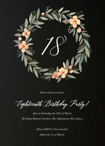 birthday invitations all stationery