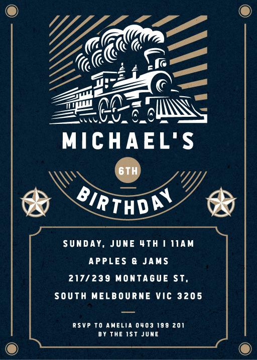 9th birthday invitations designs by