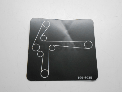 small resolution of exmark 109 6035 decal belt routing