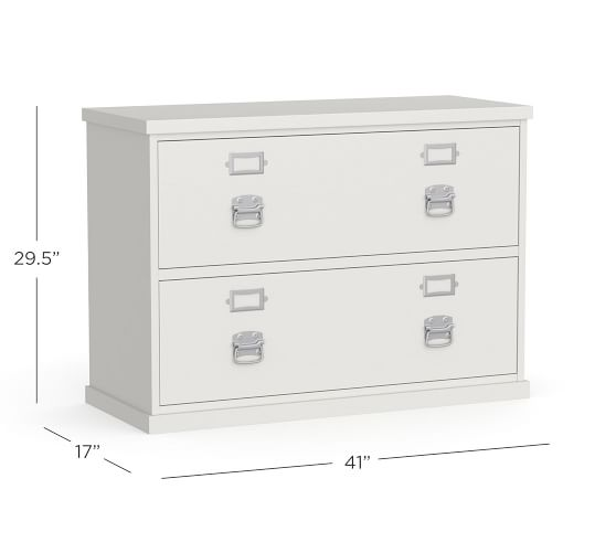bedford 41 2 drawer lateral file cabinet