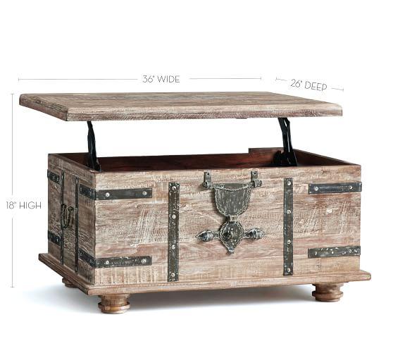 kaplan reclaimed wood lift top coffee table