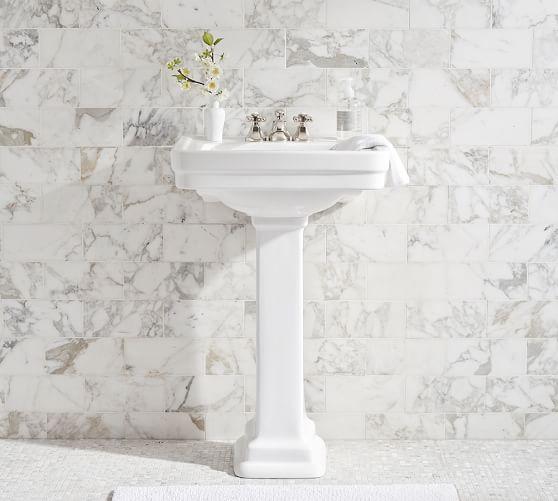 saif 26 ceramic single sink pedestal