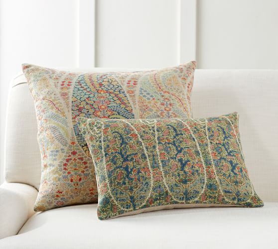 tola paisley decorative pillow cover