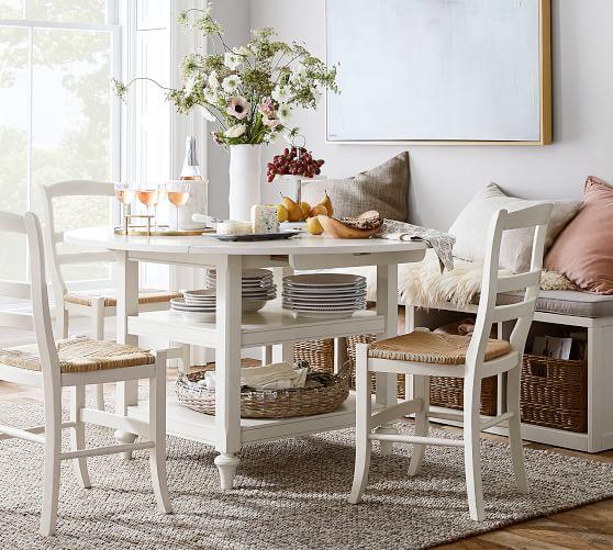 shayne round drop leaf kitchen table