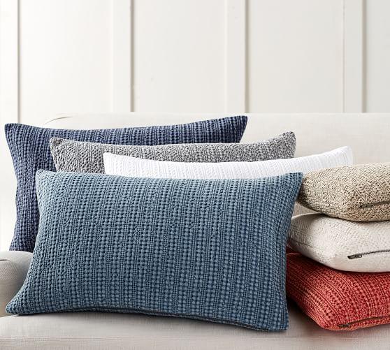 honeycomb lumbar pillow covers