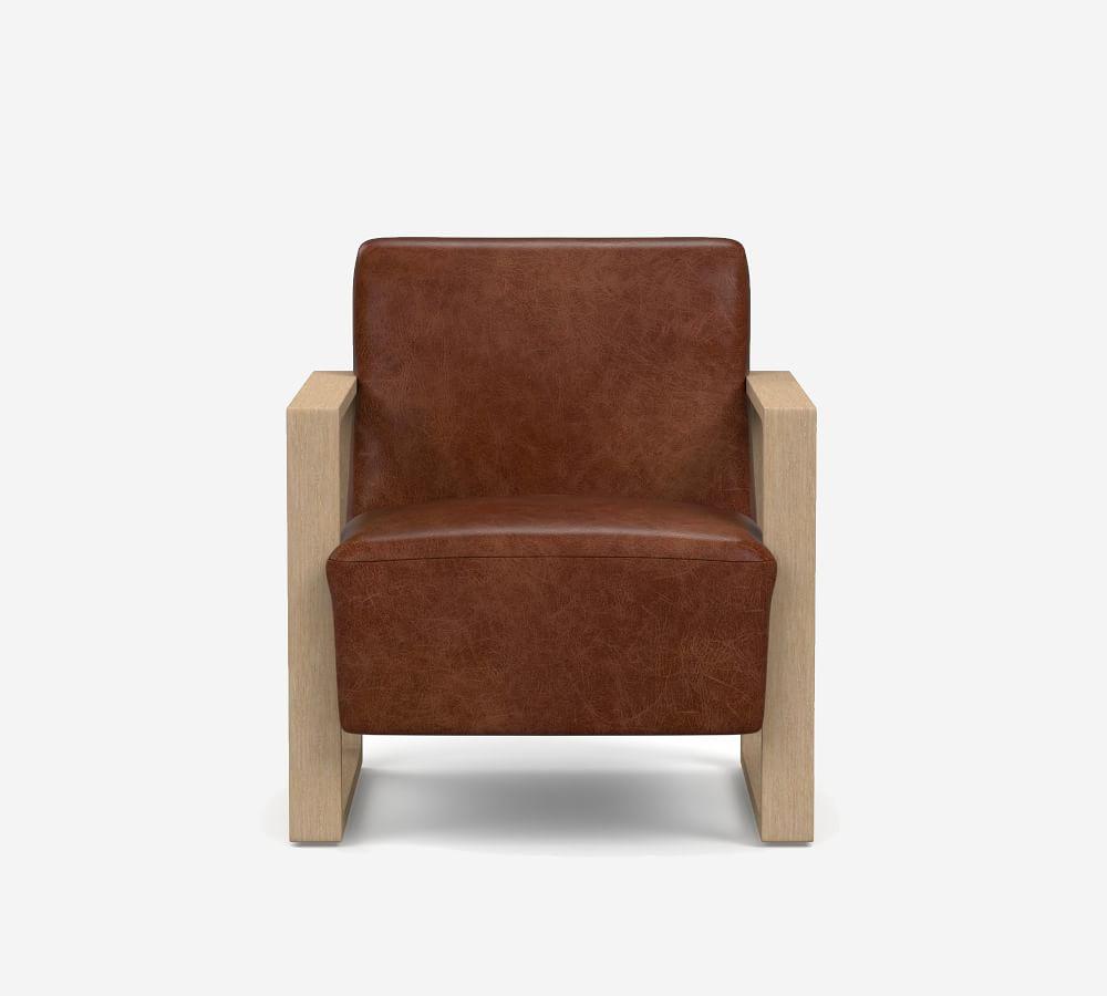 niko leather armchair