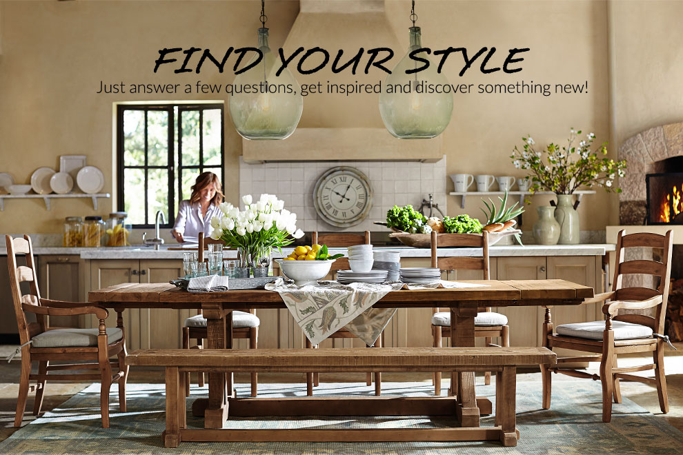 Style Finder Quiz Pottery Barn