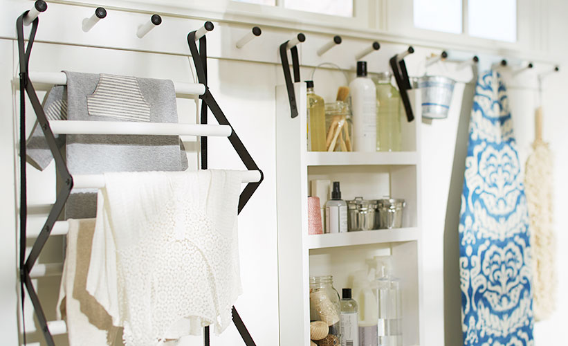 how to remodel organize laundry room