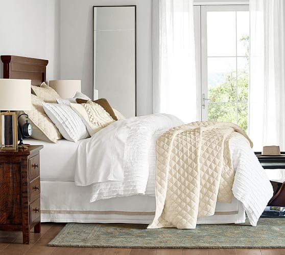 camille cotton duvet cover shams