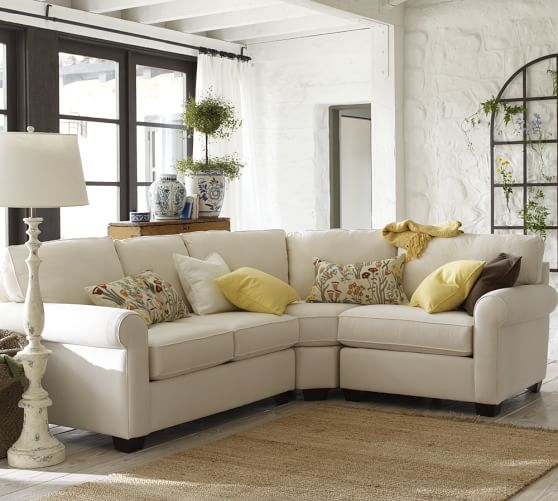 build your own buchanan roll arm upholstered sectional components