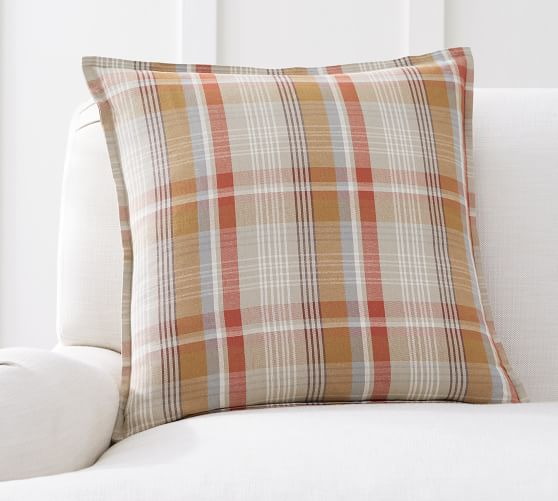 fall plaid pillow covers online