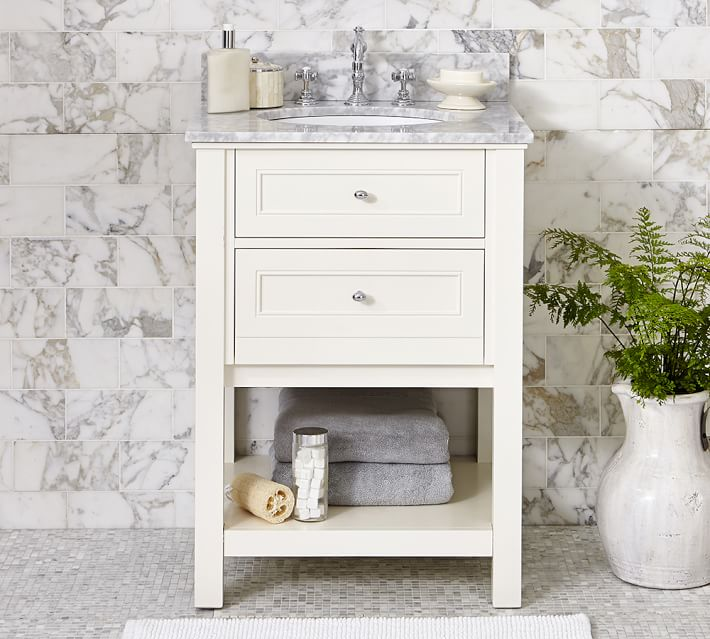 Classic 26 Single Sink Vanity Pottery Barn