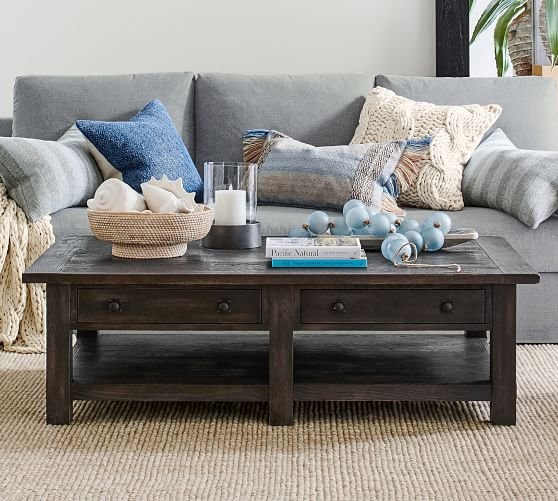 benchwright 54 rectangular coffee table