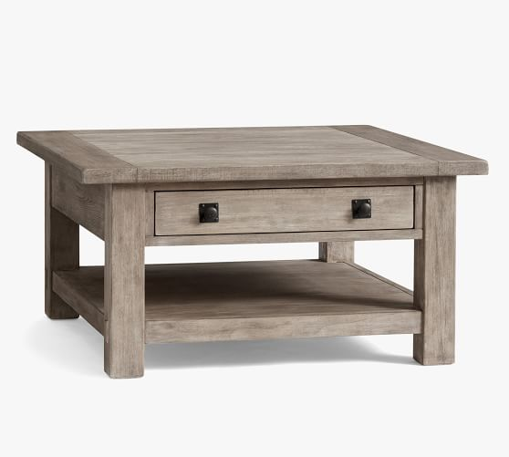 benchwright 36 square coffee table