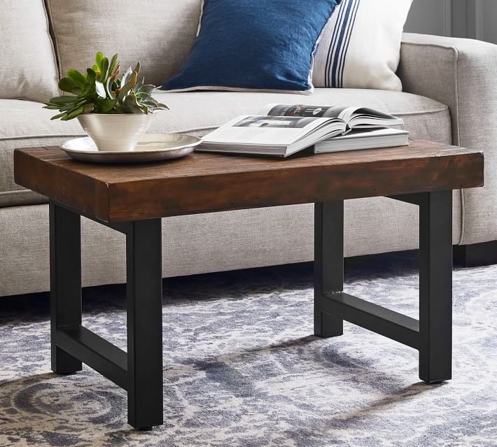 griffin 33 reclaimed wood coffee table
