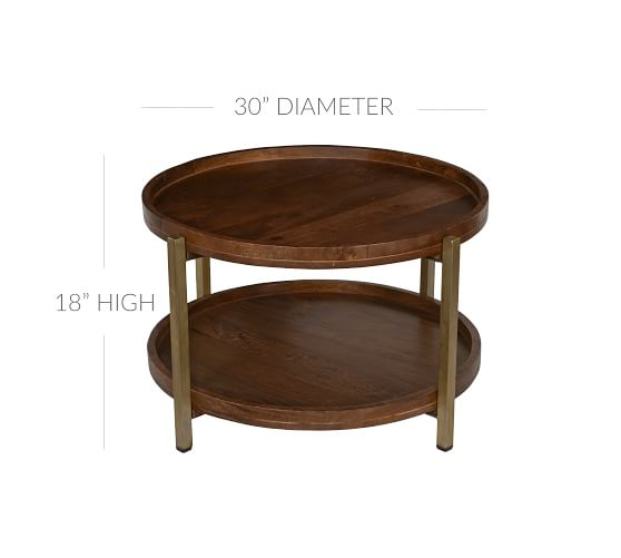 brentwood 32 round coffee table