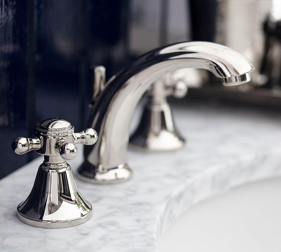 pearson cross handle widespread bathroom sink faucet