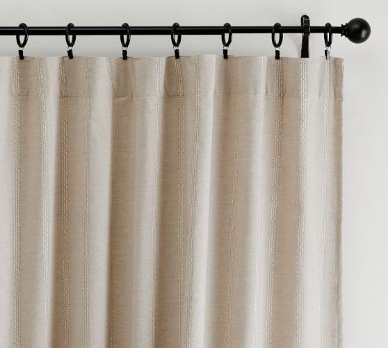 gramercy rod pocket blackout curtain set of 2