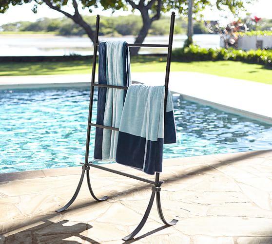 bronze pool storage valet