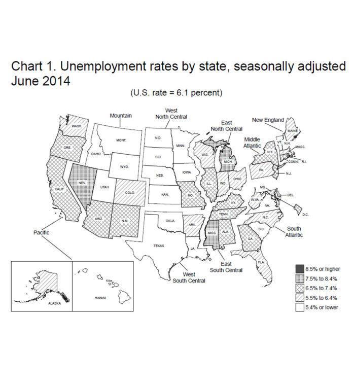 Despite drop, R.I. unemployment rate for June still