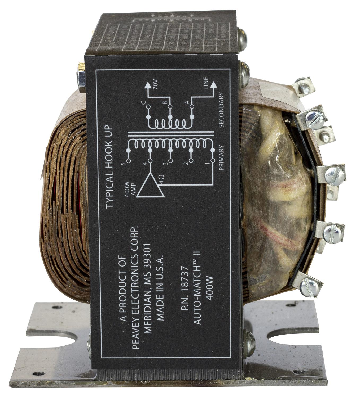 hight resolution of  peavey speaker crossover automatch ii transformer peavey on headphones wiring diagram peavey amp schematics