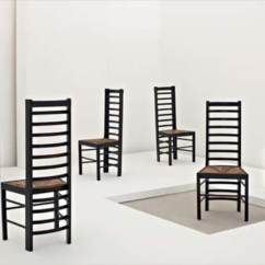 Charles Rennie Mackintosh Willow Chair Nfl Bean Bag Chairs Phillips Uk050308 Important Set Of Six From Miss Cranston S Street Tea Rooms