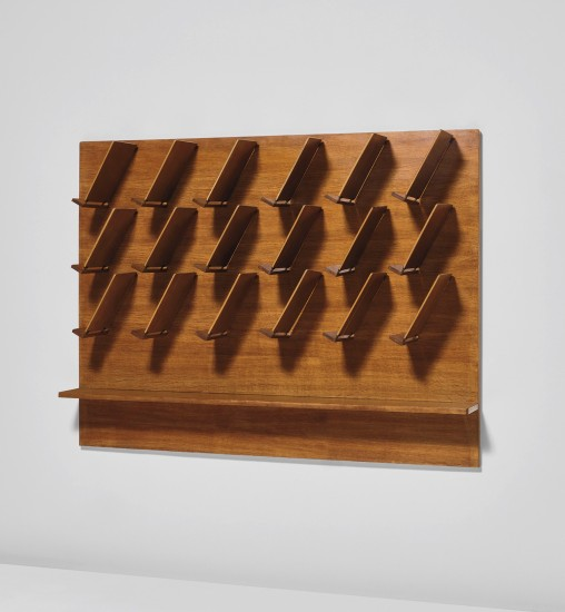 gio ponti wall mounted magazine rack