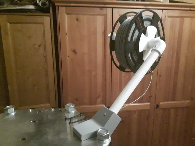 3d printed universal spool
