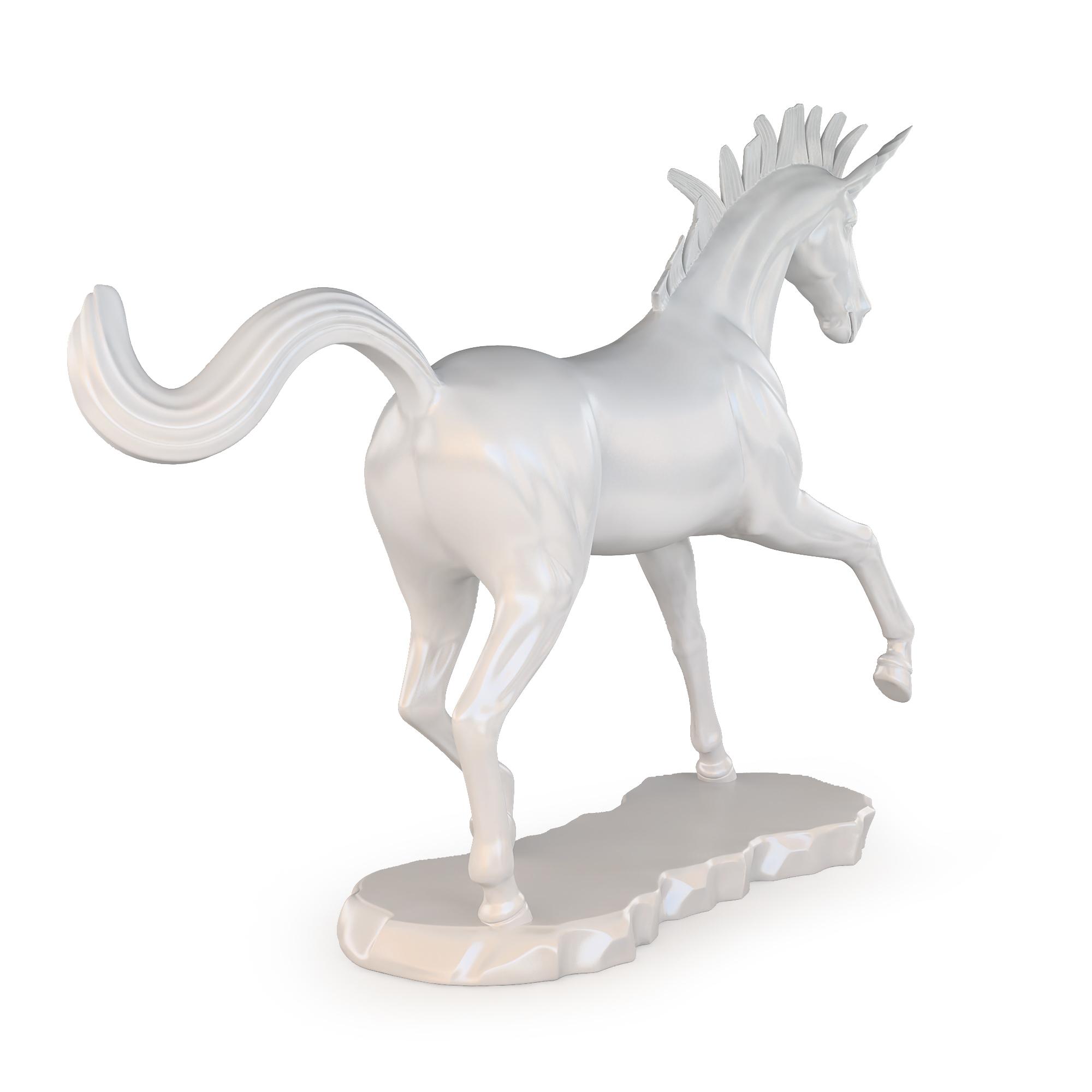 unicorn sculpture pinshape