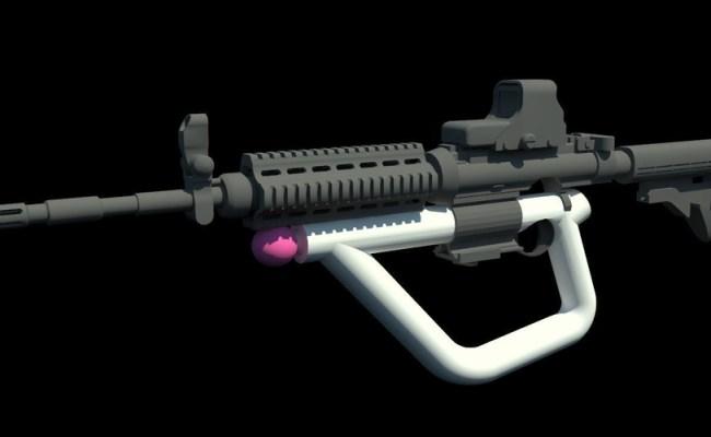3d Printed Psvr Aim Controller For Game Arizona Sunshine
