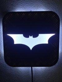3D Printed Wall Lamp (LED): Batman by Zero3DDesign | Pinshape
