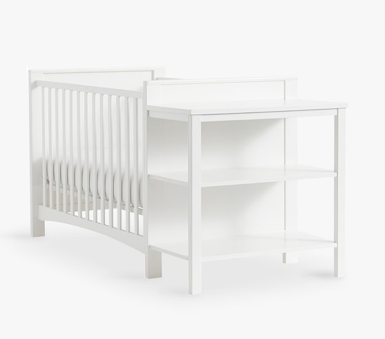 hayden baby crib changing table combo